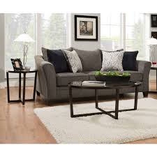 Albany Sectional Sofa Simmons Upholstery Albany Pewter Queen Sleeper Sofa Free