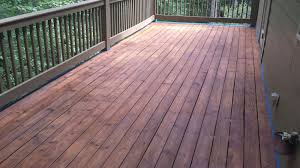 Pictures Of Painted Decks by Decks Com How To Stain A Deck