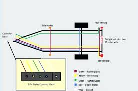 5 pin trailer wiring diagram and electrical wiring various connector