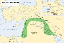 Babylonian Empire Map Sixth Grade Social Studies