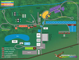 Ohio Campgrounds Map Freedom Valley Campground Campground Map