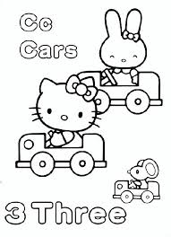 514 kitty coloring pages printables images