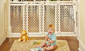Baby Gates For Bottom Of Stairs With Banister The 7 Best Baby Gates For Wide Openings To Keep Babies Safe And