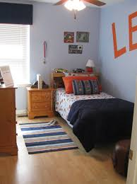 Grey And Orange Bedroom Ideas by Bedroom Interesting Modern Blue And Orange Bedroom Decoration