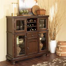 ashley furniture porter server with storage cabinet wayside