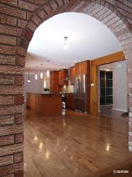 brick arch house traditional kitchen ottawa by 7j design