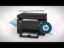 hp color laserjet pro mfp m176n multifunction printer color