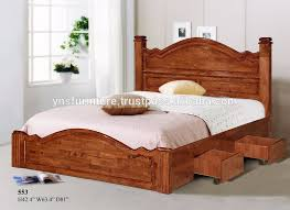 Wooden Furniture Design For Bedroom Bedroom Cool Double Bed Designs Catalogue Wooden Beds Material