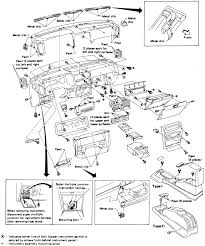how to remove a dash from a 1988 d21 nissan pickup