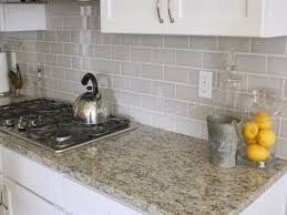 subway tiles kitchen backsplash ideas kitchen backsplash grey glass backsplash light grey subway