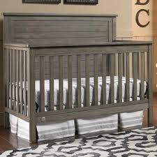 Rustic Convertible Crib Grey Rustic Cribs You Ll Wayfair