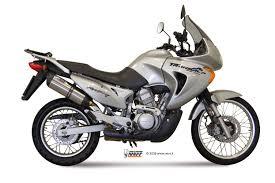 honda transalp honda xlv 650 transalp exhaust mivv suono stainless steel h 023 l7