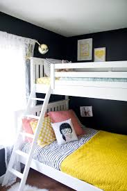 Camper Bunk Bed Sheets by Best 25 Black Bunk Beds Ideas On Pinterest Loft Bed Decorating