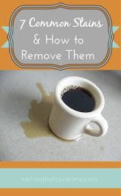 how to remove chocolate stains from clothes and furniture