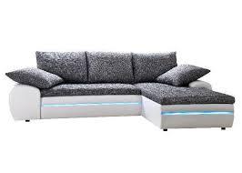 sofa mit led beleuchtung sofa bern weiss grau mit rgb led beleuchtung möbilia de
