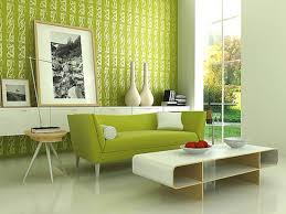 Green Wall Paint Wall Paints Design Living Room House Decor Picture