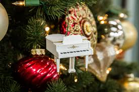 hark the herald sing piano ornament countdown to