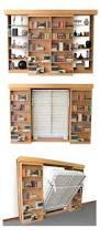 Bookcase Murphy Bed I Really Want A Murphy Bed The Fact There U0027s A Book Case With It
