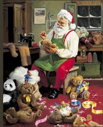 tom browning cards santa figurines tom browning bearly