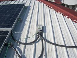 solar panels installed at holy cross anglican the san