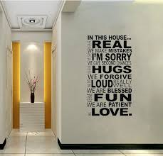 religious decorations for home in this house rule real hugs fun love house rule bible religious