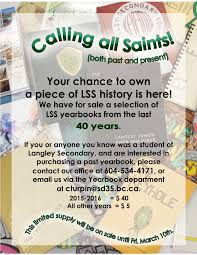 yearbooks for sale the saints scoop february 5 2017 course planning evening re