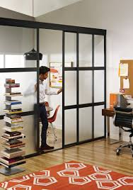 home dividers home office door ideas awesome sliding glass room dividers in home