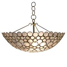 Pendant Bowl Chandelier Serena Bowl Chandelier Shell Southhillhome Com