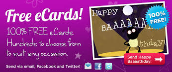 electronic birthday cards free ecards