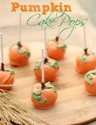 pumpkin cake pops recipe pumpkin cake pops thanksgiving table