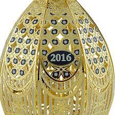 egg ornaments trellis egg ornament 2016 chemart ornaments solid brass ornament