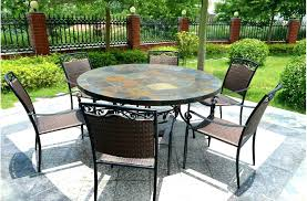 slate outdoor dining table stone top outdoor dining tables chrischarles me