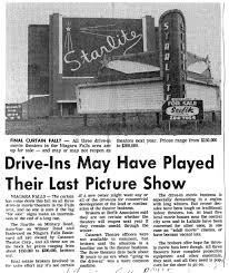 starlite drive in theatre was located in niagara falls new york