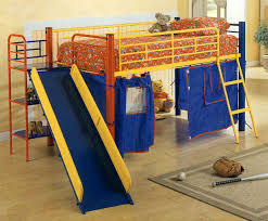 Kids Bed Design  Playful And Decorative Kids Loft Beds With Slide - Slides for bunk beds