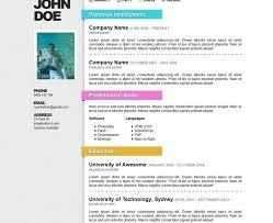 Sample Australian Resume Format Sample Australian Resume Format Resume Format In Australia