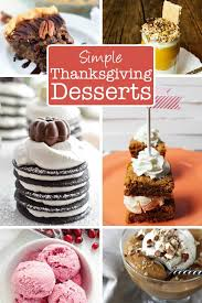 30 simple thanksgiving dessert recipes the creative