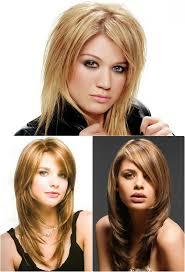 Frisuren Lange Haare Aus Dem Gesicht by Lange Stufenschnitten Haare Für Runde Gesichter Frisuren