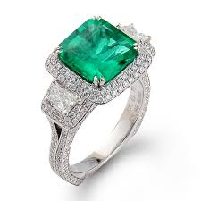green engagement ring brides simon g style mr1974 13 200 simon g green possible
