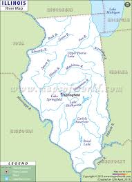 Illinois State Parks Map by Illinois Rivers Map Rivers In Illinois
