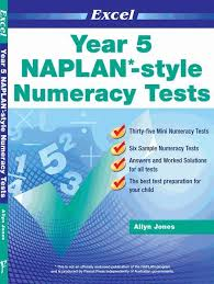 booktopia naplan style numeracy tests year 5 excel by excel