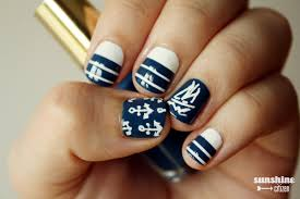 nautical sailboat nail art design sunshine citizen