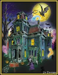 pictures of cartoon haunted houses scary haunted house gif gifs show more gifs