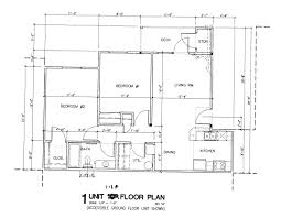 sample house floor plan with dimensions