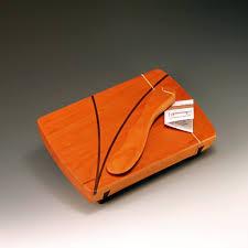 small wood serving board w spreader a priori