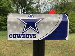 themed mailbox dallas cowboys themed mailbox