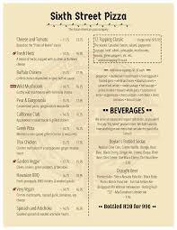 restaurants menu templates free menu design samples from imenupro more than just templates menu example