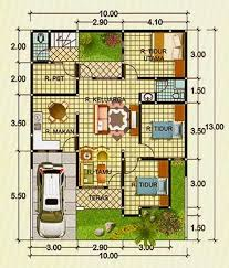 software design layout rumah layout rumah type 100 1 lantai google search design pinterest