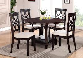 lazy susan dining table round table with lazy susan dining room tables collection design by