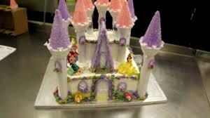 magical castle cake