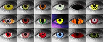 Color Blindness Contacts Halloween Contact Lenses And Other Special Effect Contacts